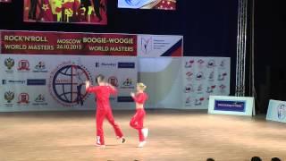 Anne Ragnhild Olstad & Steinar Berg - World Masters Moskau 2013
