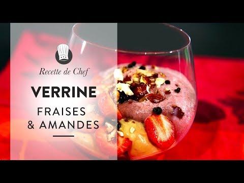 👨🏻🍳 Dessert de CHEF : une recette étoilée de verrine Fraises & Amandes qui va vous faire craquer !
