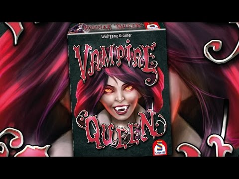 Vampire Queen | Das Kartenspiel von Schmidt im Test | Verspielt und abgedreht