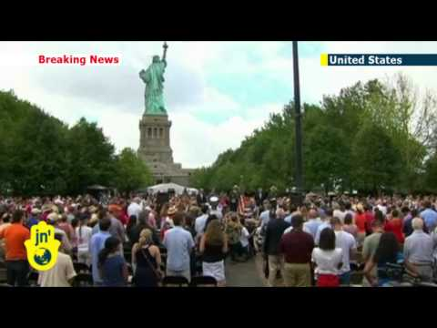 USA Independence Day: Statue of Liberty reopens on Fourth of July after Superstorm Sandy repairs