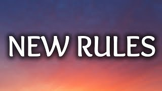 Video Dua Lipa ‒ New Rules (Lyrics) 🎤 MP3, 3GP, MP4, WEBM, AVI, FLV Mei 2018