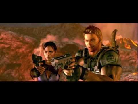 Resident Evil 5 Hd Chapter 6-3 Volcano & Last Battle Wesker [mutated Form] P54
