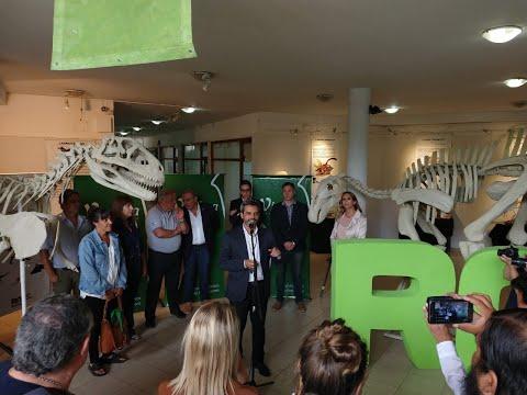 El tesoro paleontológico rionegrino se expone en Viedma