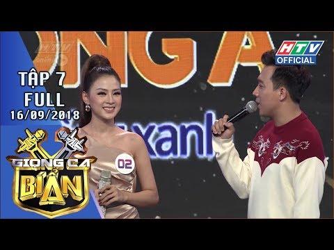 HTV GIỌNG CA BÍ ẨN | Xuất hiện cô gái khiến Trấn Thành - Hari lục đục | GCBA #7 FULL | 16/9/2018 - Thời lượng: 1:13:53.