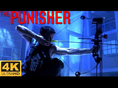 Frank Castle vs Howard Saint - Final Shooting  - The Punisher 2004 Movie CLIP HD