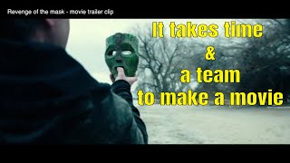 14 years in the making of a film - the revenge of the mask movie producer Dylan Sides