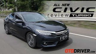 Video Honda Civic Turbo 2016 Review Indonesia - Tes Ulang | OtoDriver | MP3, 3GP, MP4, WEBM, AVI, FLV Mei 2017