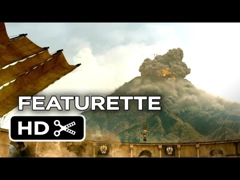 Pompeii Featurette - A Greater Power (2014) - Kit Harington, Emily Browning Movie HD