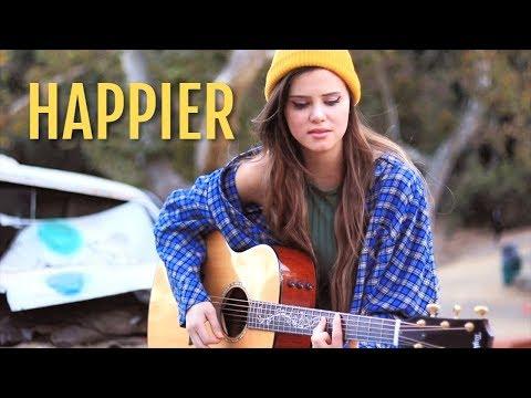 "marshmello  ""Happier"" feat. Bastille Cover by Tiffany Alvord"