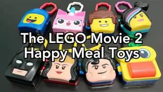 The LEGO Movie 2 McDonald's Happy Meal Toys