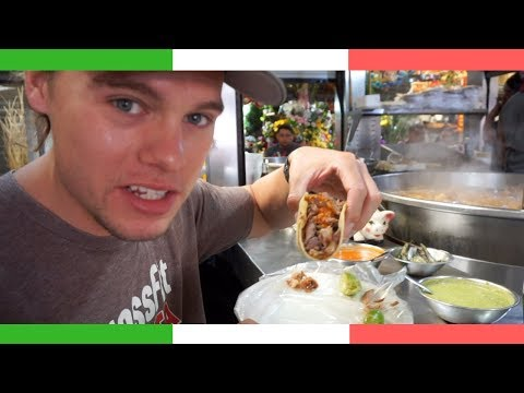 Ultimate MEXICAN Market STREET FOOD Tour