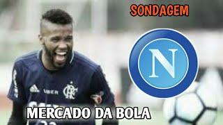 Rafael Vaz recebe sondagem do Napoli e pode deixar o Flamengo