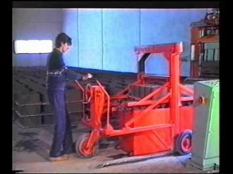 maquinaria para hacer blocks - Maquinaria bloquera para la fabricación de bloques de hormigon prefabricados. Bloques de concreto prefabricados. Bovedillas de hormigón. Fabricación de Paver...