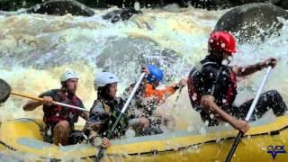 Extrémní rafting na Čerťákách - Video