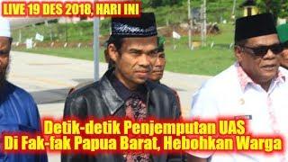 Video Detik-detik Penjemputan Ustadz Abdul Somad di Fak-Fak Papua Barat Yang HEBOHKAN Masyarakat Papua MP3, 3GP, MP4, WEBM, AVI, FLV Desember 2018