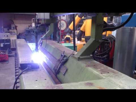 Longitudinal Seam Welding Test with Bode 2-HSW 8/68 Seam Welder at Westermans