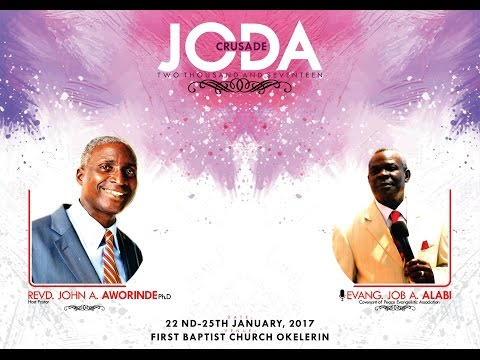 Joda Crusade 2017 Session B - Evang. Job A. Alabi