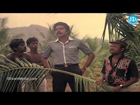 City Rowdy Movie - Rajasekhar, Pandari Bai, Madhavi Action Scene