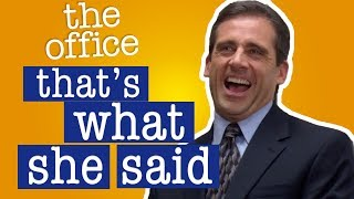 Compilation of Every 'That's What She Said' From the Office Is Near Impossible To Beat