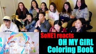 Video OH MY GIRL (오마이걸) - Coloring Book (컬러링북) M/V Reaction by SoNE1 MP3, 3GP, MP4, WEBM, AVI, FLV Juli 2018