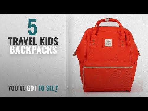 Top 10 Travel Kids Backpacks [2018 Best Sellers]: Himawari Travel Backpack Large Diaper Bag School