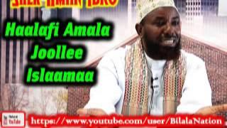 Haalafi Amala Joollee Islaamaa By Shek Amiin Ibro