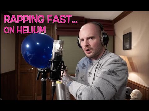 Mies vetää keuhkoihin heliumia ja alkaa räppään – Kuuntele!