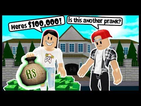 I PRANKED HIM SO NOW I OWE HIM $100,000! - Roblox