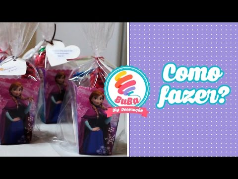Video Como fazer LEMBRANCINHA de ANIVERSARIO FESTA FROZEN download in MP3, 3GP, MP4, WEBM, AVI, FLV January 2017