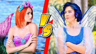 Video Makeup Challenge! 10 DIY Mermaid Makeup vs Fairy Makeup MP3, 3GP, MP4, WEBM, AVI, FLV September 2018