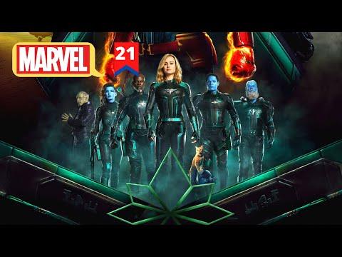 Captain Marvel Movie Explained In Hindi | MCU Movie 21 Explained In Hindi