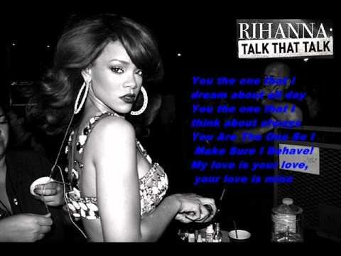 , title : 'Rihanna - You Da One Lyrics .wmv'