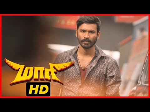 Video Maari Tamil Movie | Fight Scene | Dhanush beats up Mime Gopi's men | Kalloori Vinoth download in MP3, 3GP, MP4, WEBM, AVI, FLV January 2017