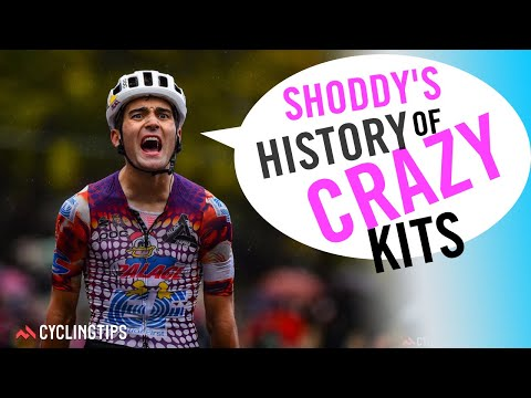 The good the bad and the ugly: A history of crazy cycling team kits