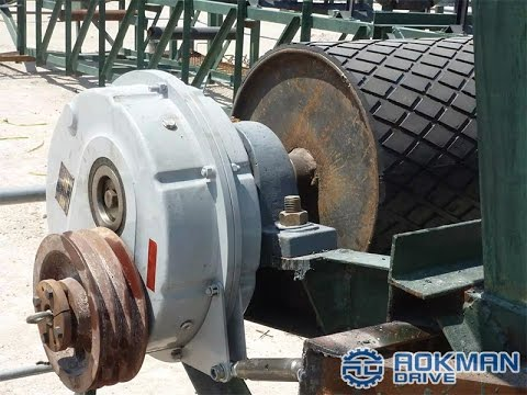 AOKMAN ATA Series Shaft Mounted Reducer/Gearbox for Conveyor