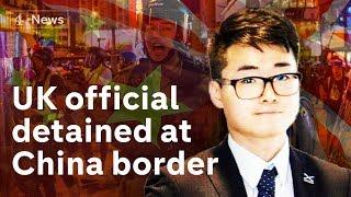 Video Hong Kong: UK consulate worker detained at China border MP3, 3GP, MP4, WEBM, AVI, FLV Agustus 2019
