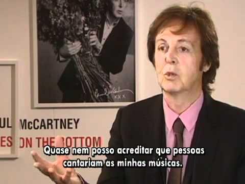 Vídeo da semana: Entrevista com Paul McCartney no Fantástico