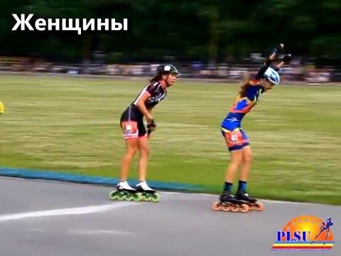 Чемпіонат України 2014. Жінки - 5000 м гонка на вибування.
