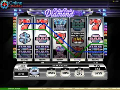 Retro Reels - Diamond Glitz Slots