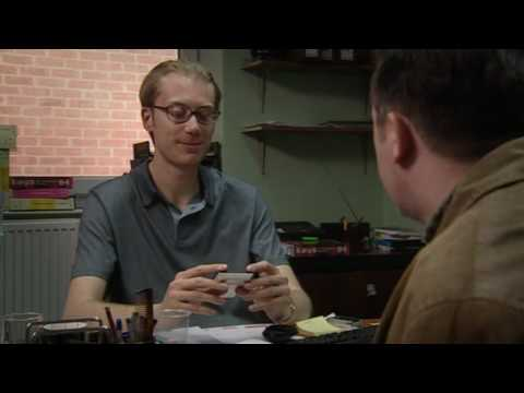 extras - A tribute to Darren Lamb from 'Extras' Stephen Merchant portrays Darren Lamb - the utterly incompetent agent of Andy Milman (Ricky Gervais) and
