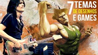 Oziezinho | 7 Temas de desenhos e games na guitarra