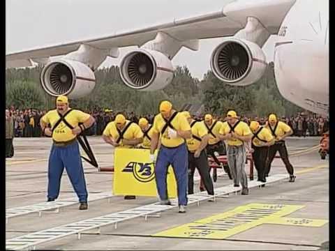 "AN-225 ""Mriya"" is lifting the heaviest..."