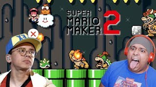 LOGIC SENT ME ANOTHER LEVEL TRYNA KILL YOUR BOY!! [SUPER MARIO MAKER 2] [QUICKIES] [#02]