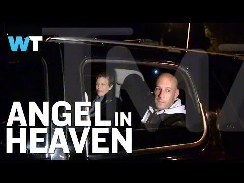 Now - A TMZ cameraman chases after Vin Diesel to ask insensitive questions after Vin just said his goodbye to his loved one Paul Walker, calling him an angel in he...