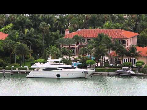 Video Miami mansions of the rich and famous on Palm Island download in MP3, 3GP, MP4, WEBM, AVI, FLV January 2017