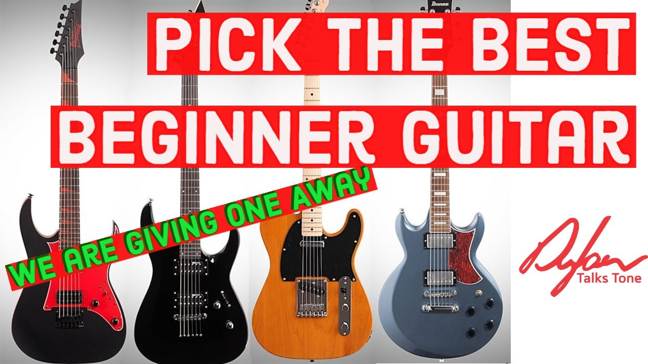 Buying A Beginner Electric Guitar – We Are giving One Away