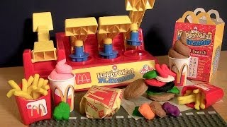 This is called play doh McDonald's happy meal playshop playset from mcdonaldland. Its called to make your happy meal hamburger or cheeseburger with french fr...