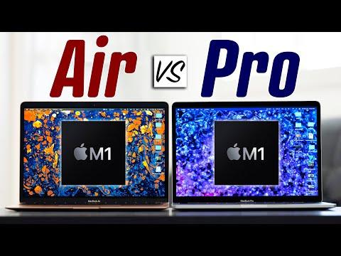 M1 MacBook Air vs M1 MacBook Pro - Full Comparison!