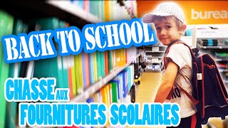 Video BACK TO SCHOOL : CHASSE AUX FOURNITURES SCOLAIRES POUR LE CP D'HUGO - VLOG ANGIE MAMAN 2.0 MP3, 3GP, MP4, WEBM, AVI, FLV Agustus 2017