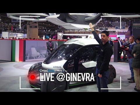 Italdesign, Airbus Pop.Up e Zerouno | Salone di Ginevra 2017